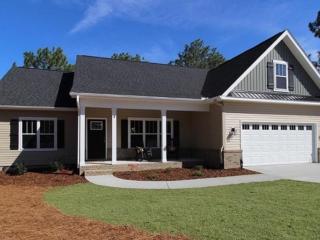 Landscape Installation New Home Construction, Pinehurst NC