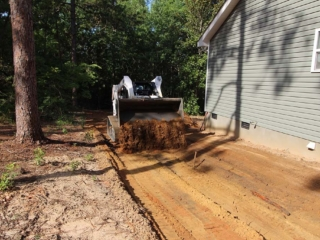 Land Grading, Residential Landscaping in Pinebluff NC