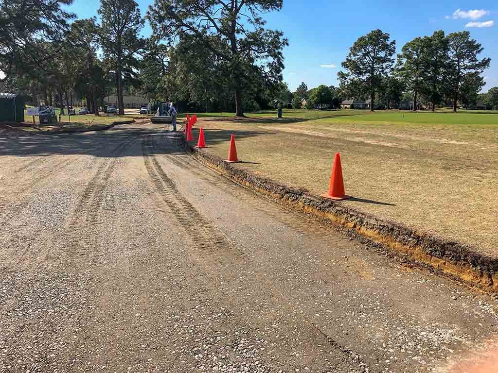 Land Grading for Road Access in Pinehurst NC