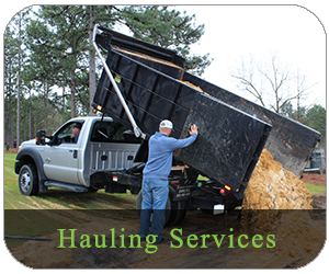 Hauling Services, Pinebluff NC