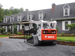 Residential Landscaping & Gravel Driveway Installation in Pinehurst NC