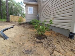 Residential Drainage System Installation, Pinehurst NC