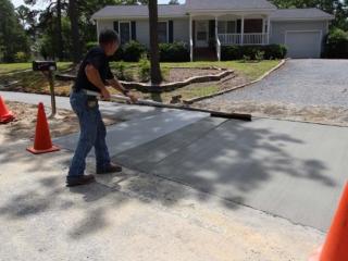 Concrete Finishing, Pinehurst NC