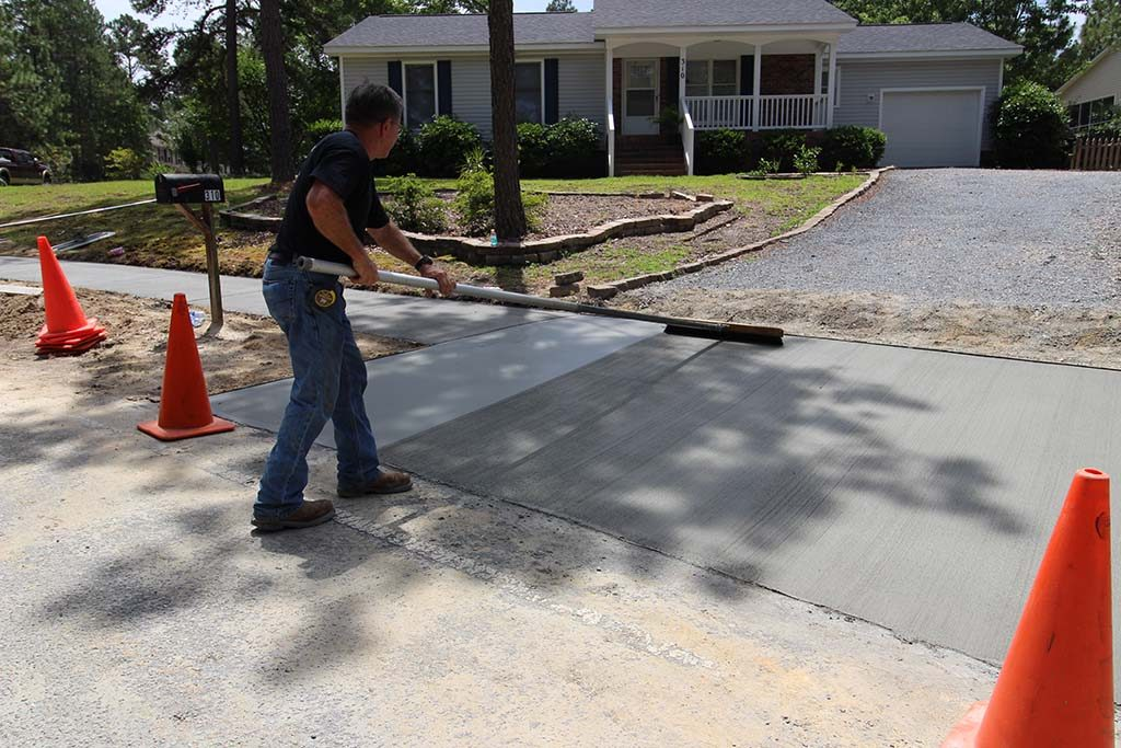 Concrete Finishing, Pinehurst NC