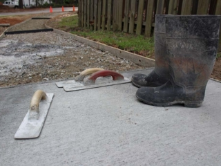 Concrete Sidewalk Paving, Pinehurst NC