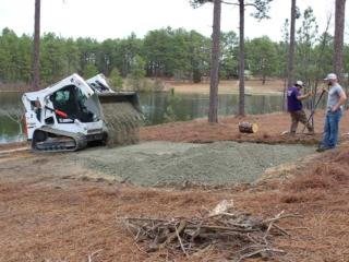 Hardscaping, Crush & Run Gravel Installation, Pinebluff NC
