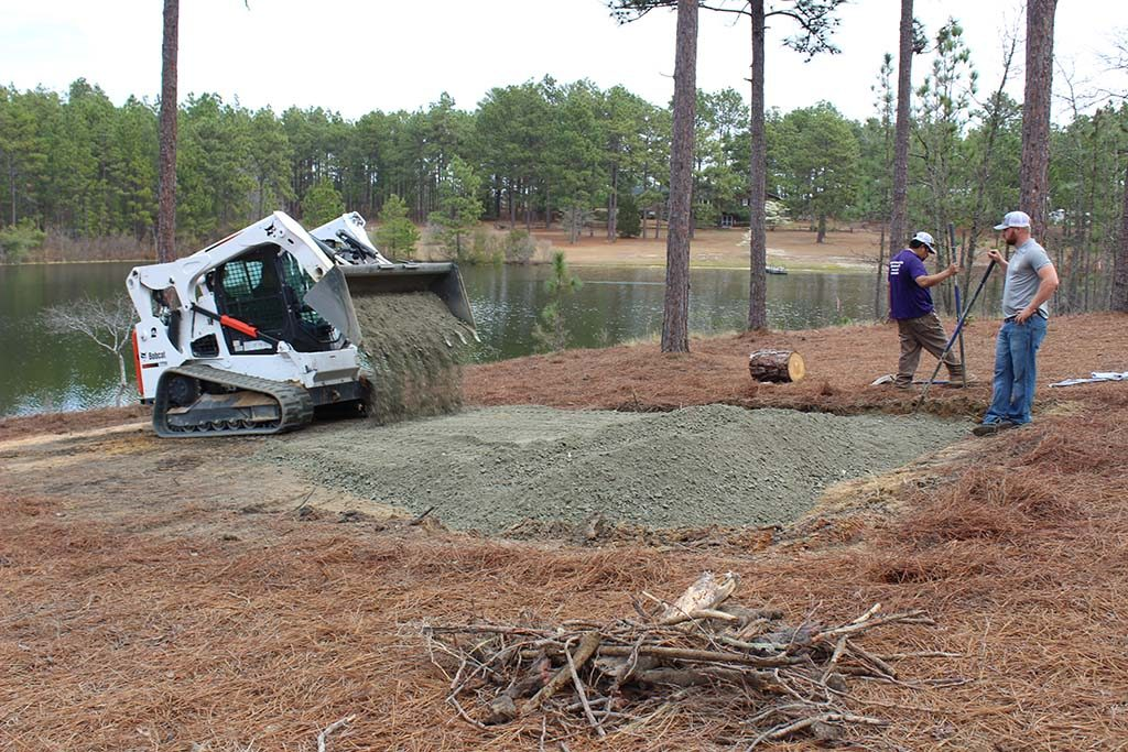 Hardscaping, Crush & Run Gravel Installation, Pinebluff NC