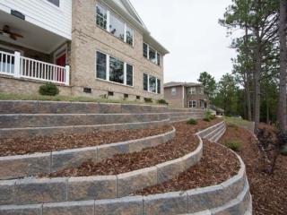 Custom Retaining Walls & Hardscaping, Pinehurst NC
