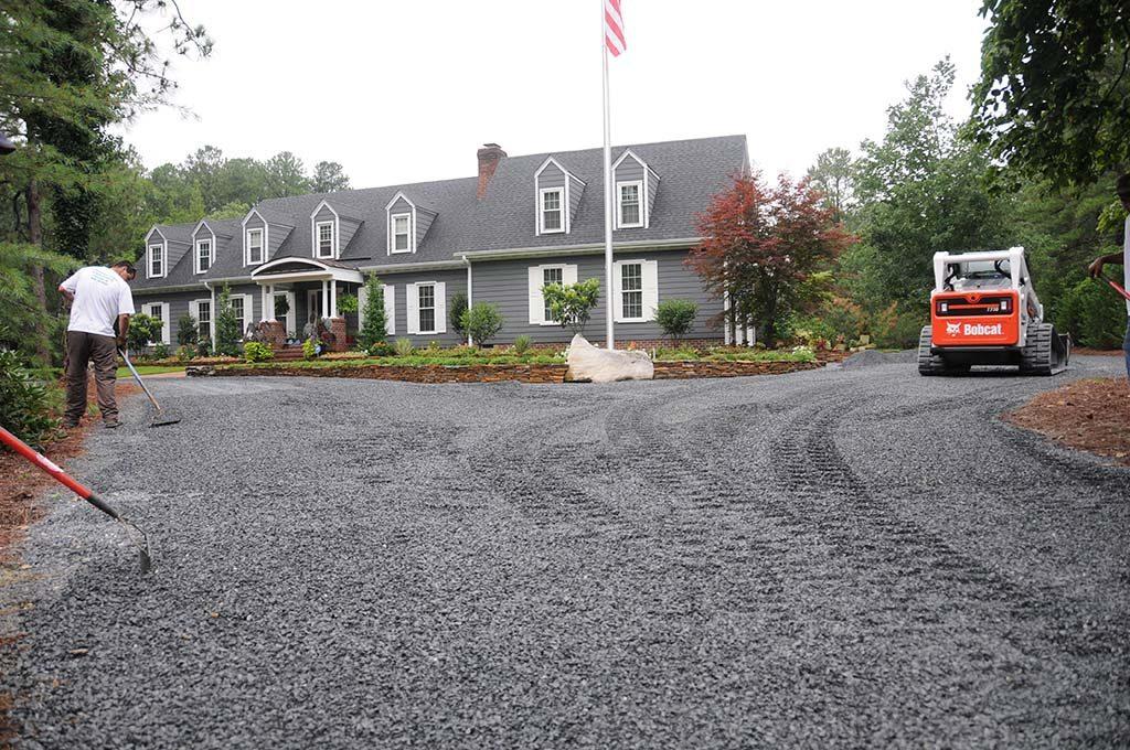 Driveway Grading & Landscaping, Pinehurst NC