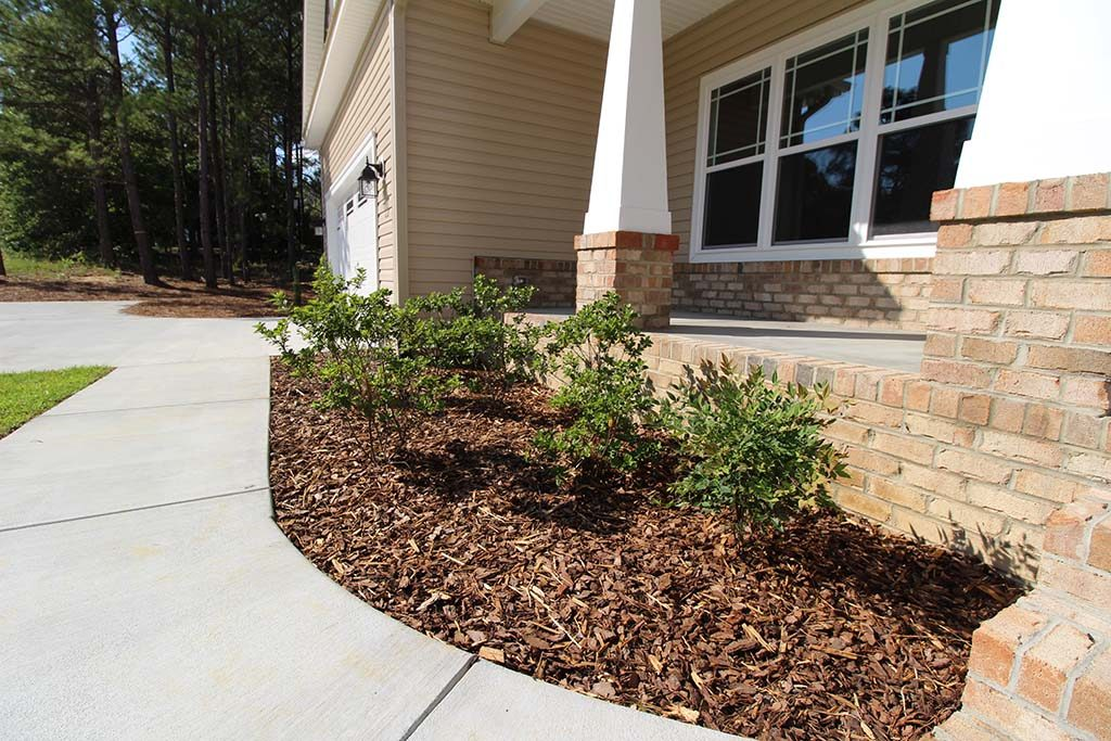 Residential Foundation Plants, Brooks Hauling, Grading & Landscaping LLC