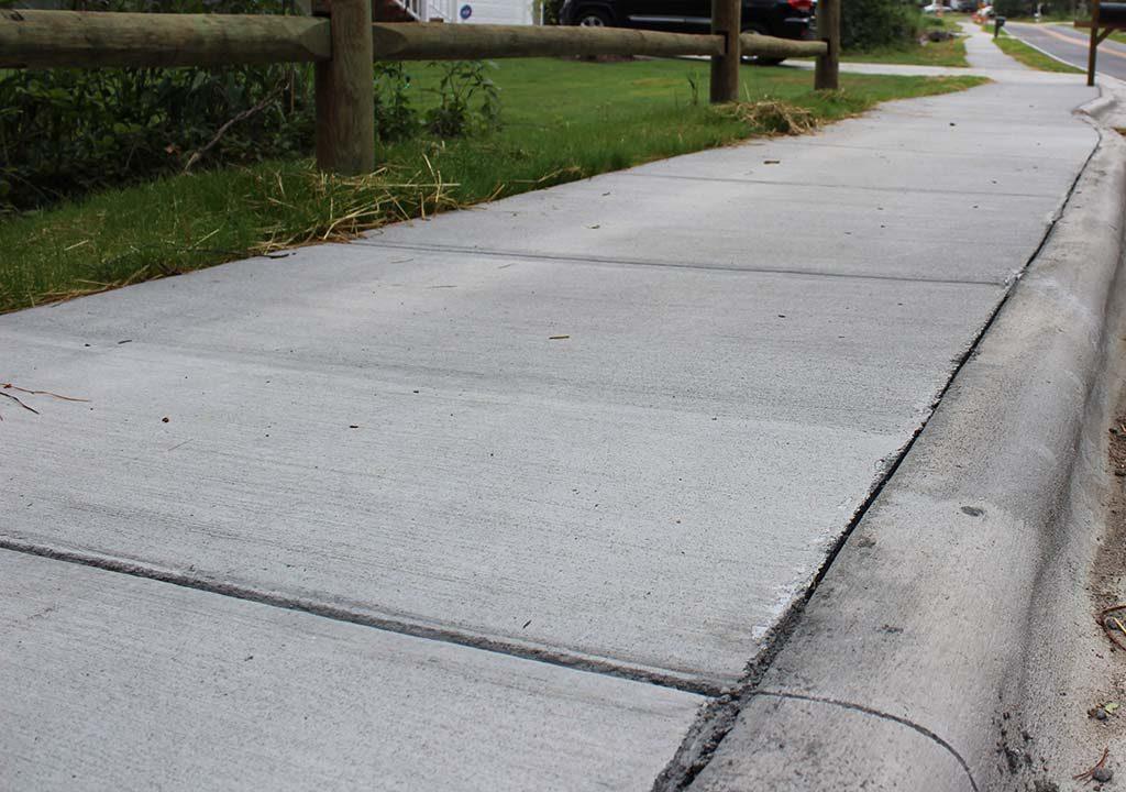 Sidewalk Installation, Pinehurst NC