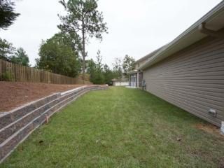 Sod & Custom Retaining Wall, Pinehurst NC